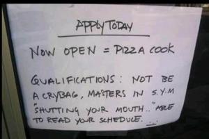 job crybag