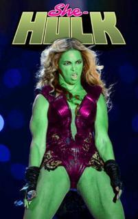 beyonce she hulk