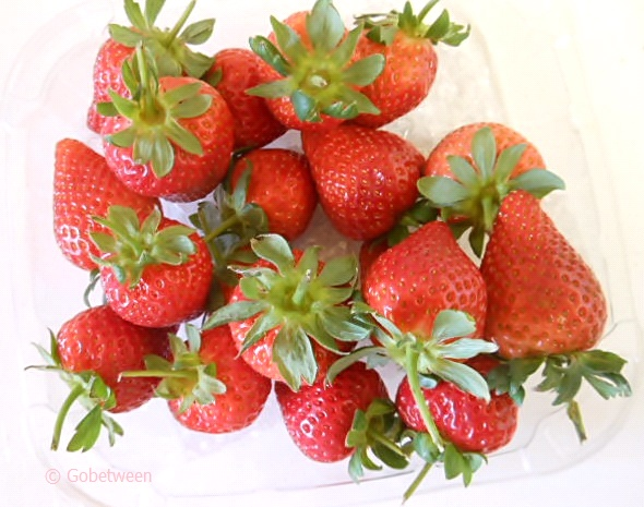 strawberries v