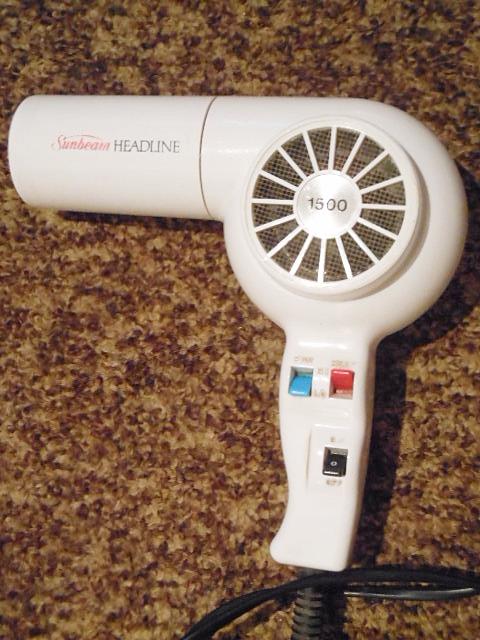 hair dryers Sunbeam